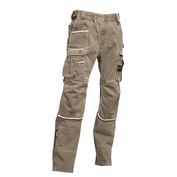 Pantalon multipoches de travail Ardoise