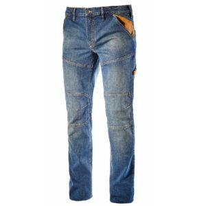 Jeans de Travail Bleu Denim Stone