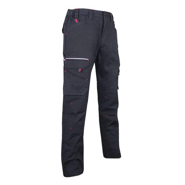 Pantalon en tissu canvas extensible Multipoches