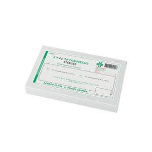 Kit de 20 compresses stériles panachées