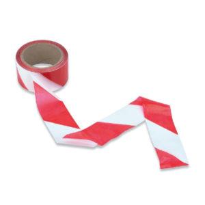 Ruban de balisage Rouge et Blanc 100m
